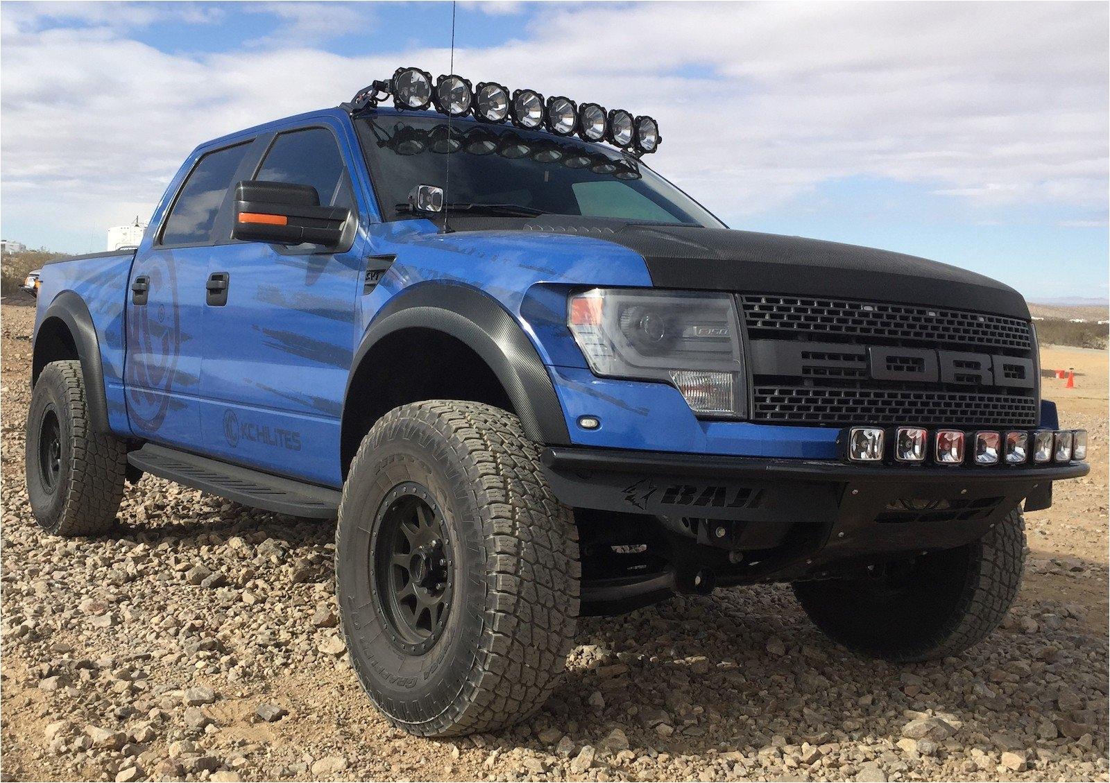 pro6 led light bar on ford svt raptor