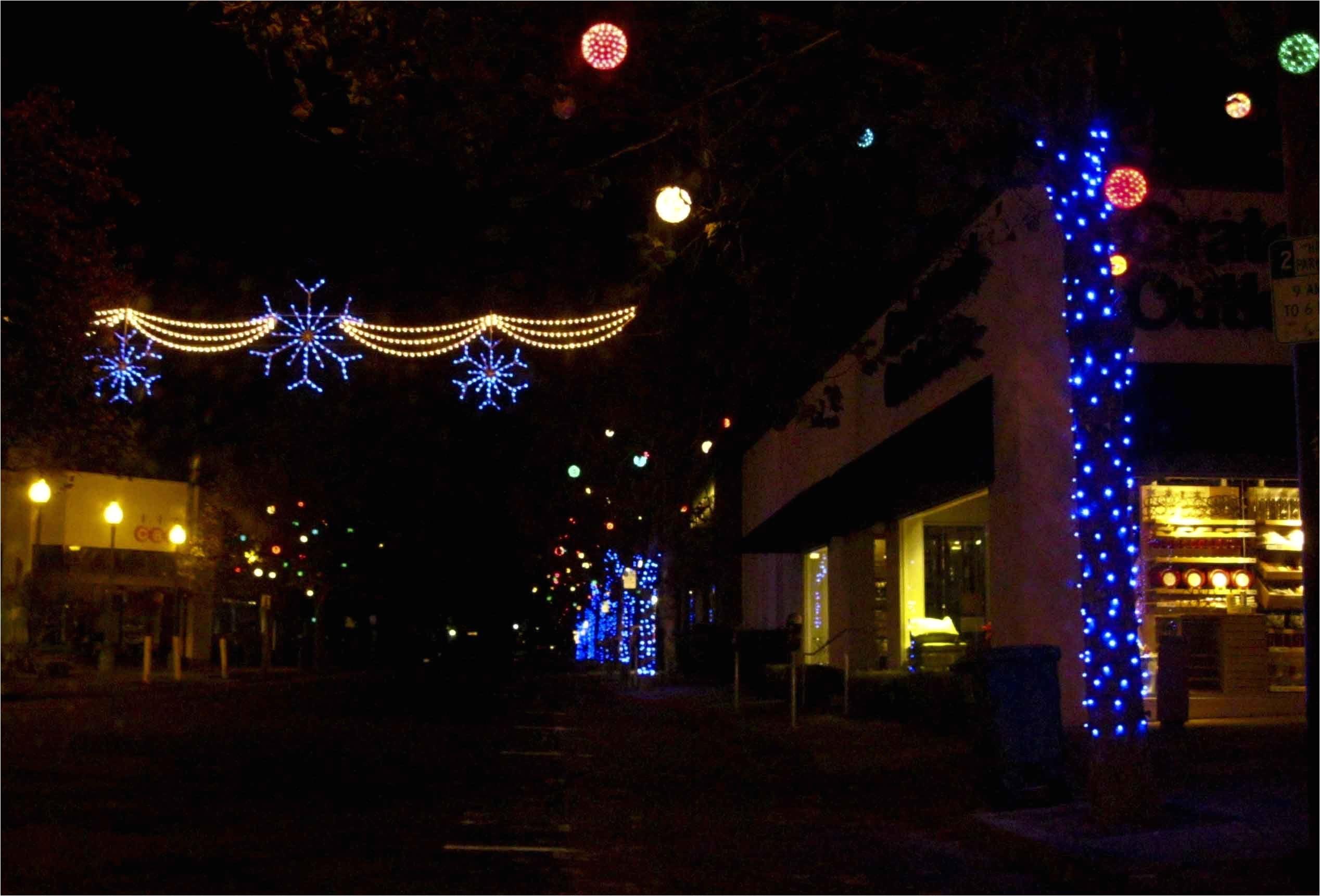 christmas rope lights a· 4th st berkeley ca