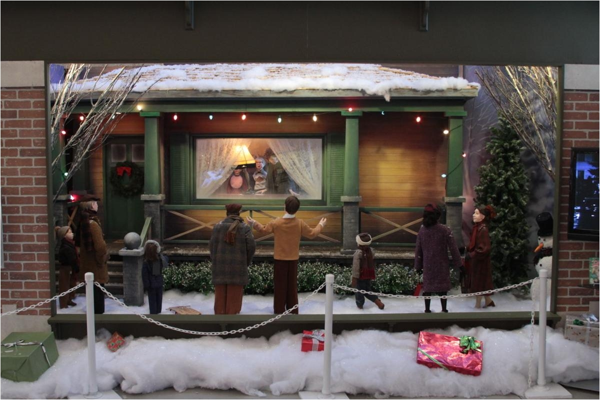 former macys windows highlight of christmas story comes home exhibit
