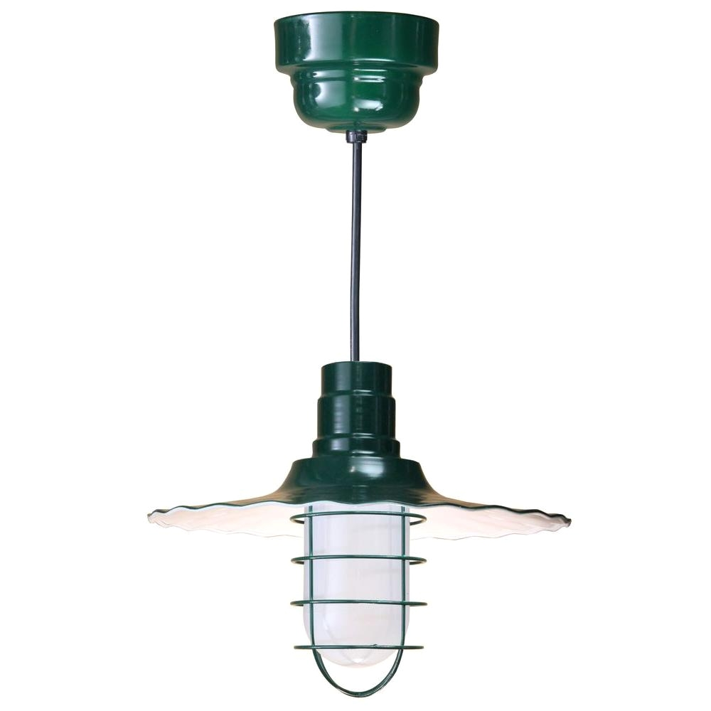 1 light ceiling black fluorescent pendant