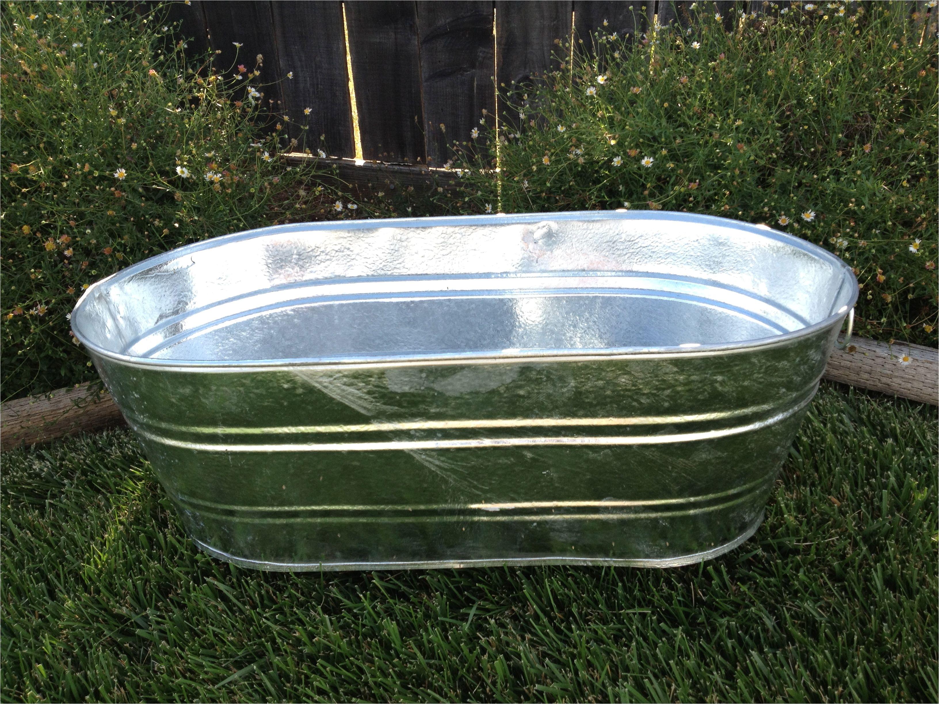 50 gallon galvanized tub galvanized tub