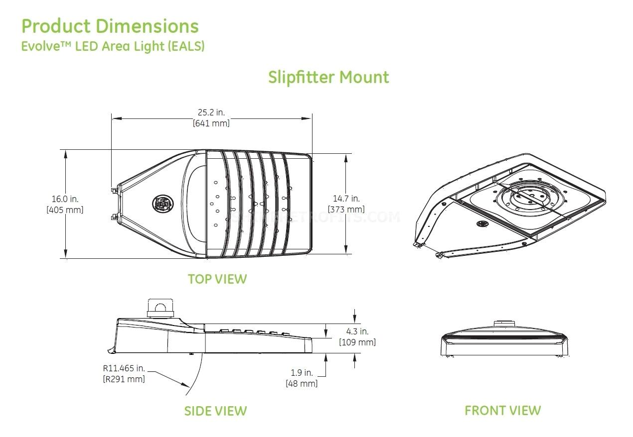 eals product dimensions