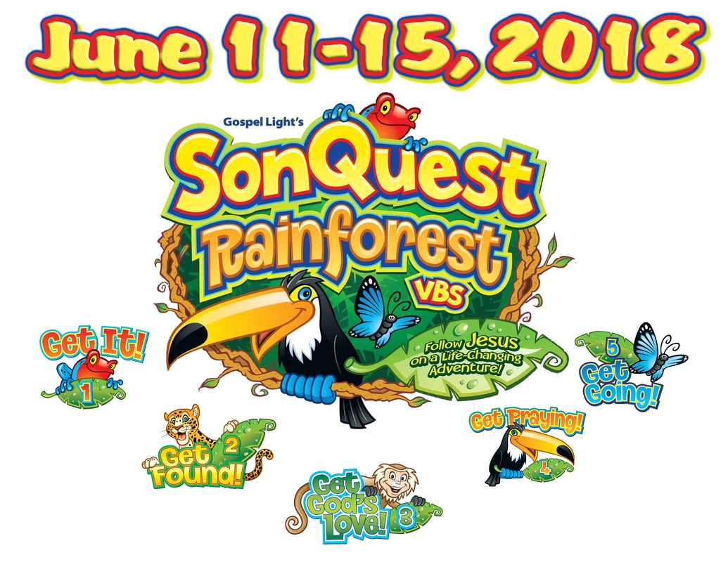 Gospel Light Vbs Vbs 2018 sonquest Rainforest Grace Evangelical Congregational Church