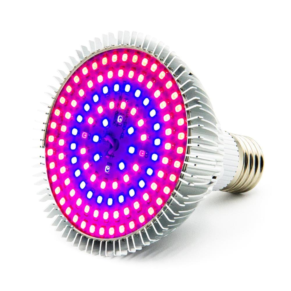 13w e26 full spectrum 120 led grow light bulb for vegetable plant flower indoor greenhouse ac85