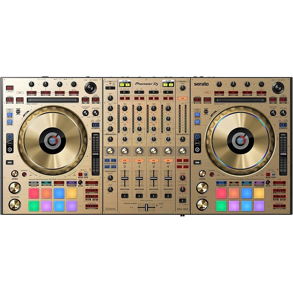 pioneer ddj sz2 gold edition professional dj controller with serato dj