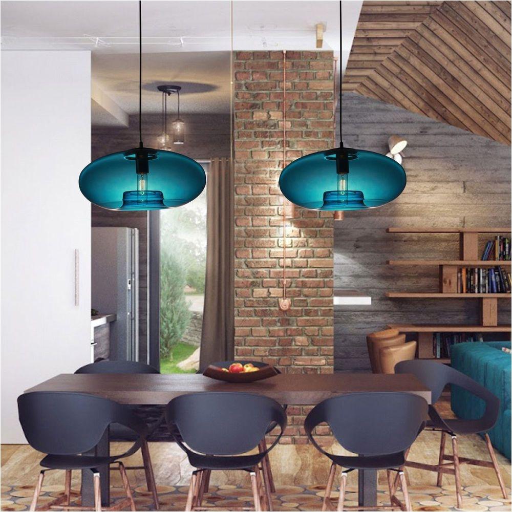 new modern contemporary glass ball ceiling light lighting fixture pendant lamp modern