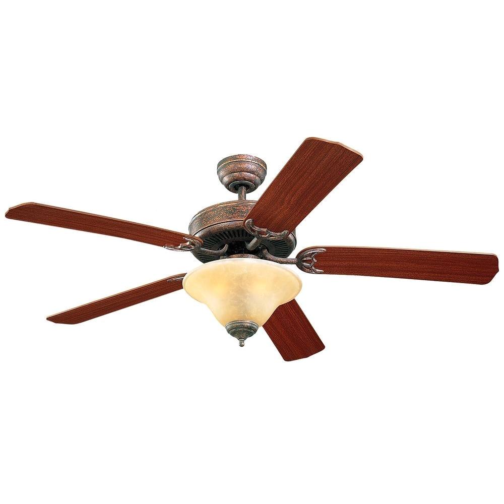 tuscan bronze mahogany ceiling fan