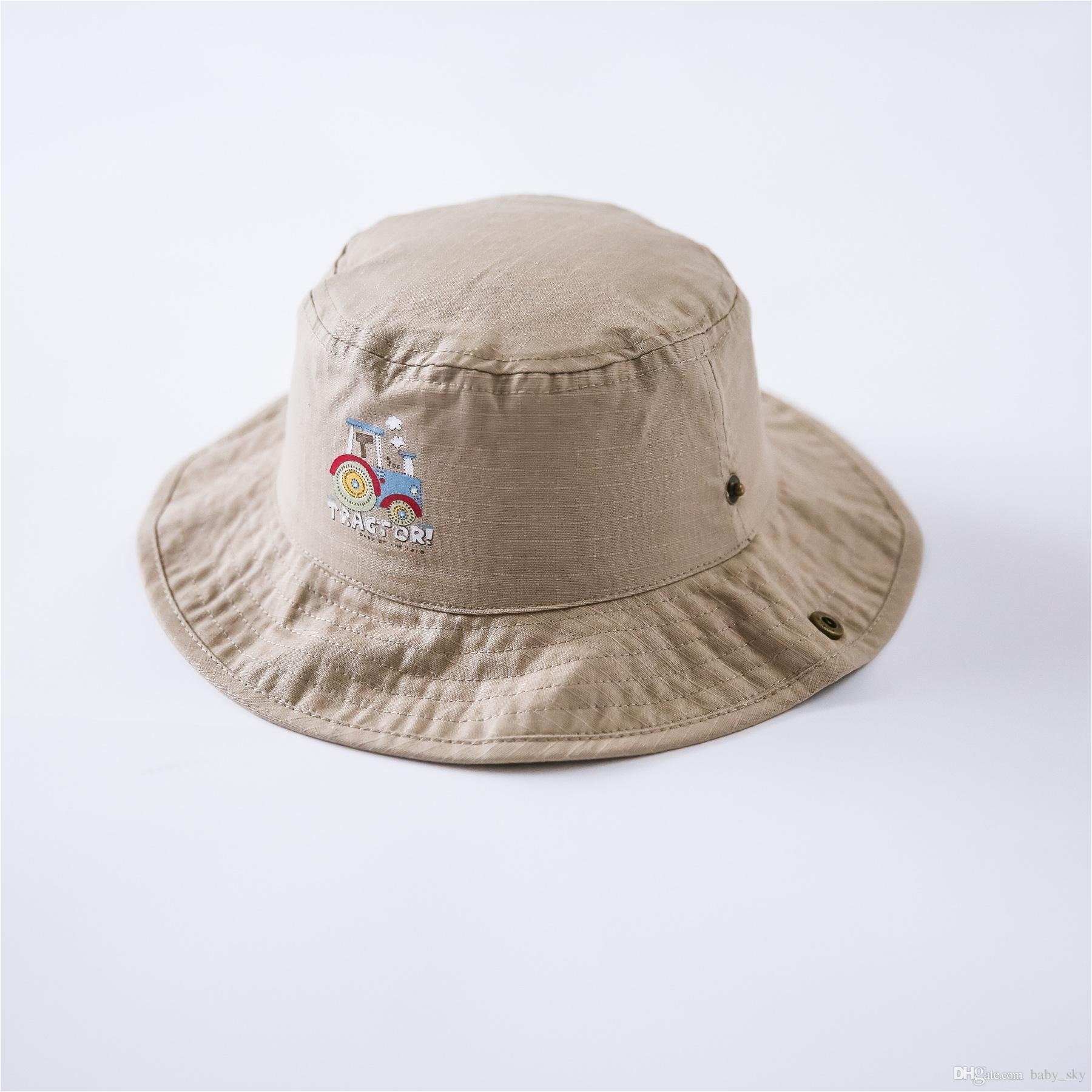 2018 kids fedora sun top hats baby caps brim khaki princess for girls fashion beach england vintage from baby sky 3 95 dhgate com