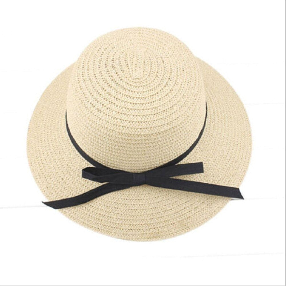 fashion summer hat for women wide brim beach sun headdress straw floppy solid elegant bohemian sun hat baby hats bucket hats for men from amoywatches