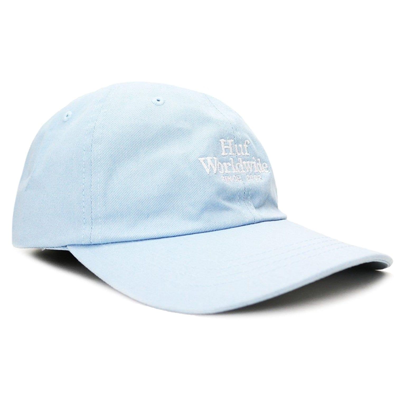 huf worldwide uv curved brim hat light blue b01m2yozyv