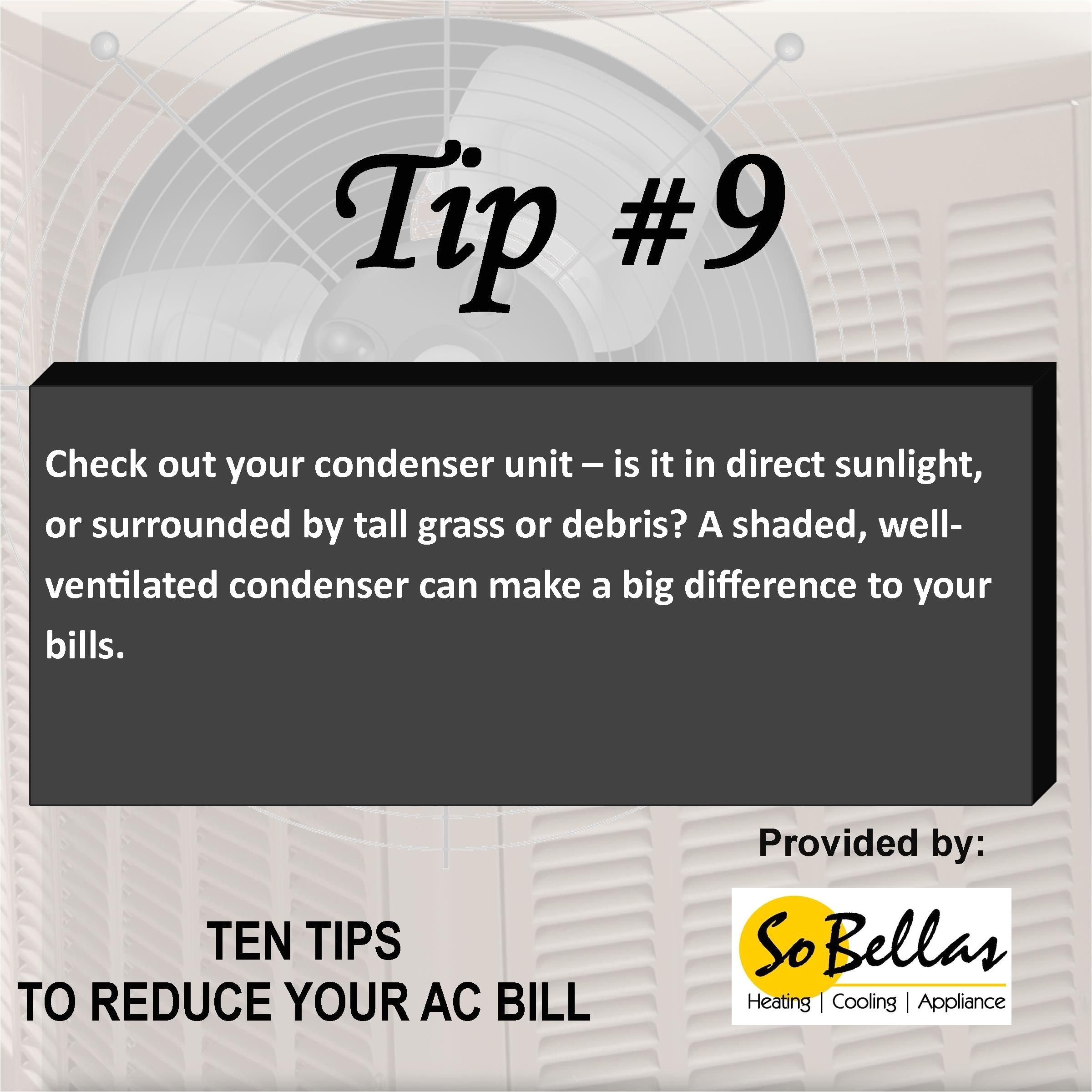 now is the time to think about getting your air conditioning system in shape so you can keep your comfort and keep your utility bills comfortable too