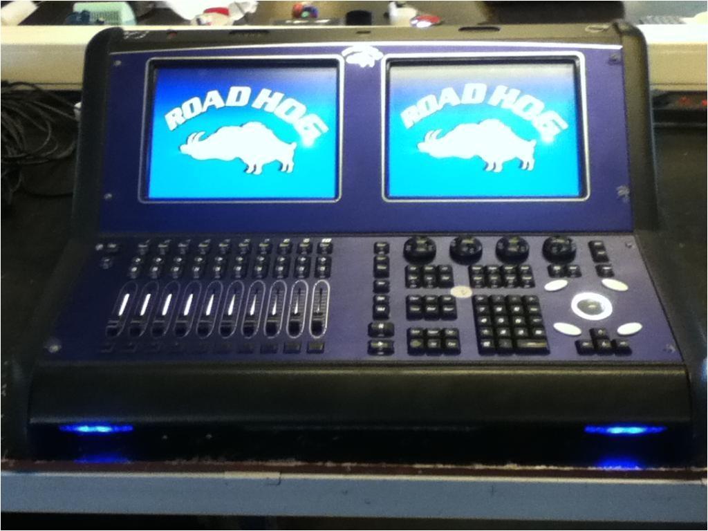 road hog lighting console high end