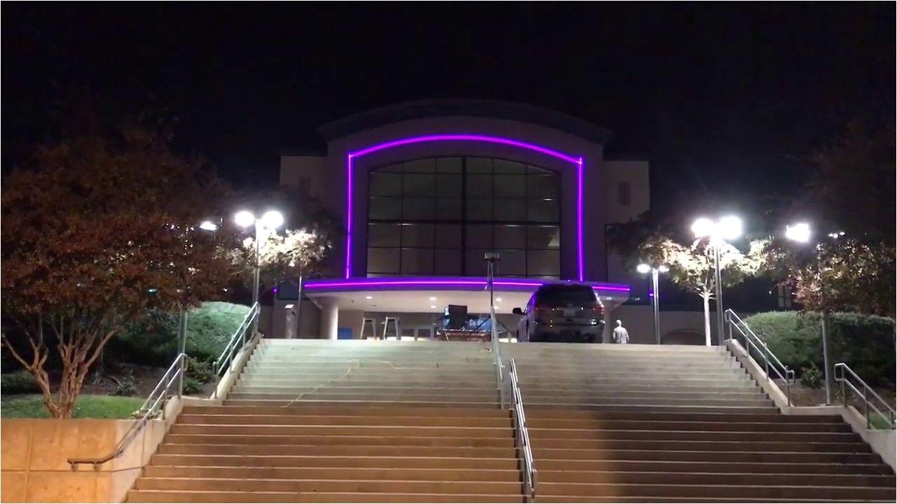 christmas laser light show demo at bayside church in roseville californ