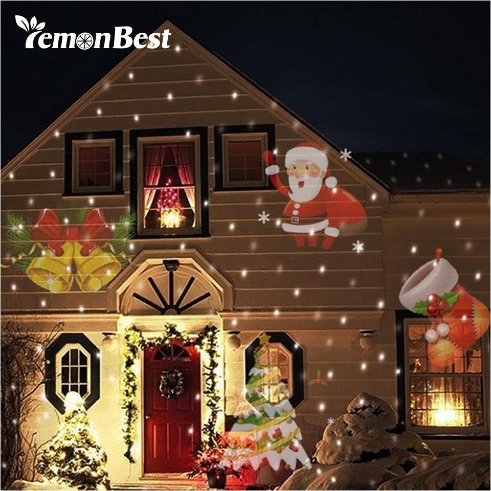 12 muster weihnachten laser schneeflocke projektor outdoor led wasserdichte disco lichter home garten stern licht indoor