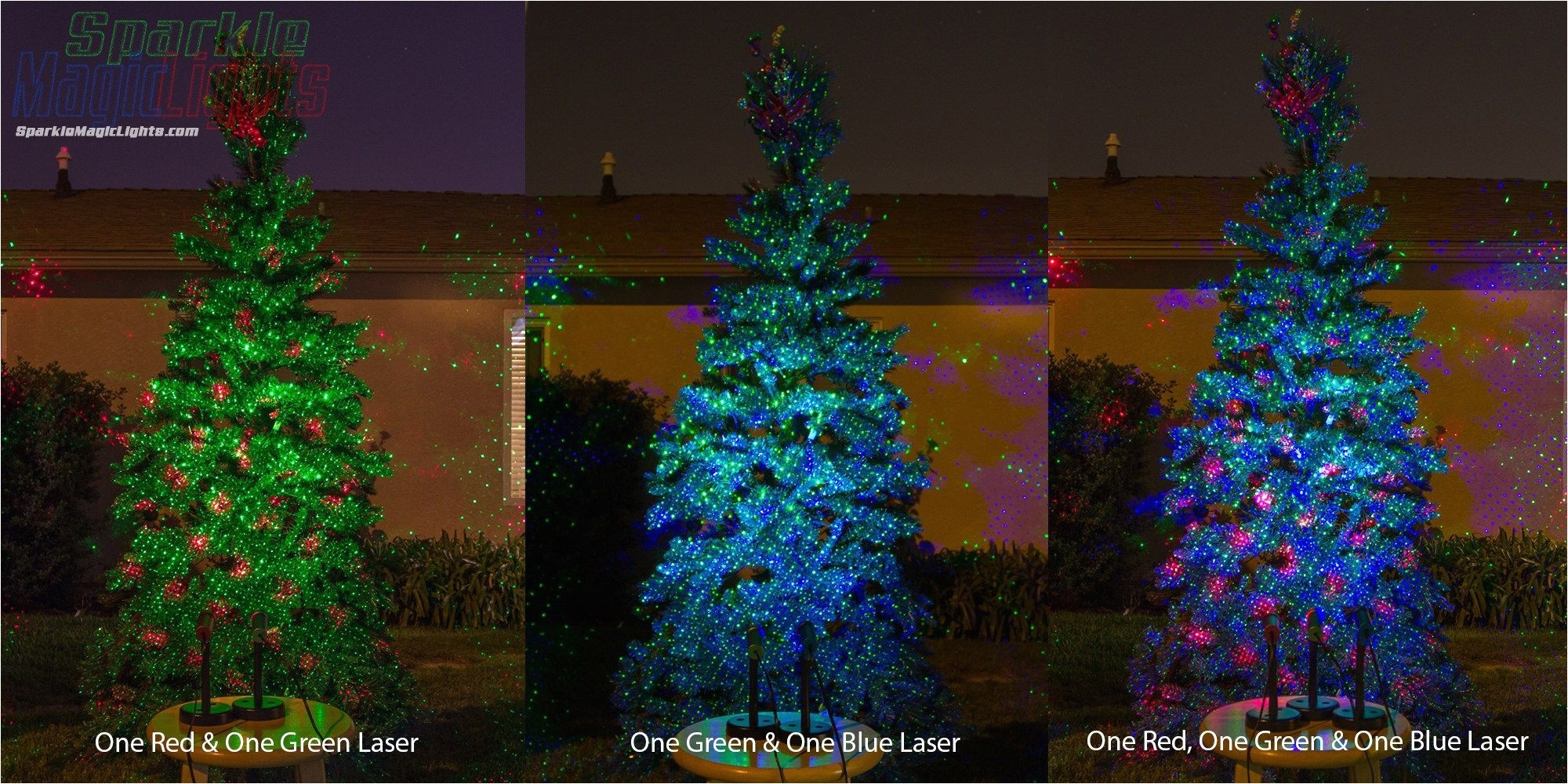 Hologram Christmas Lights