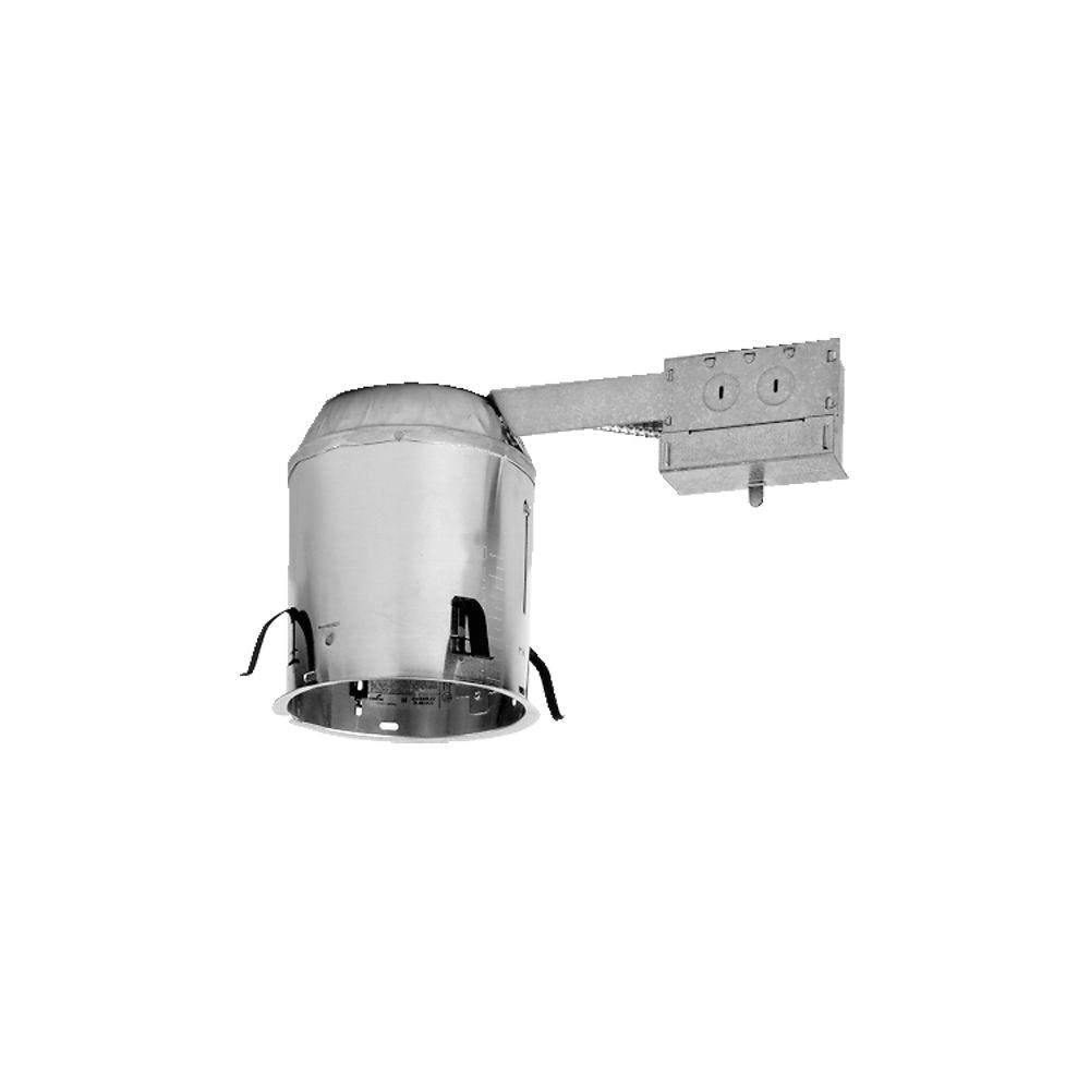 aluminum recessed lighting housing for remodel ceiling insulation contact