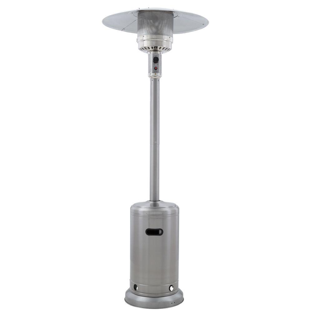 41000 btu stainless steel propane patio heater
