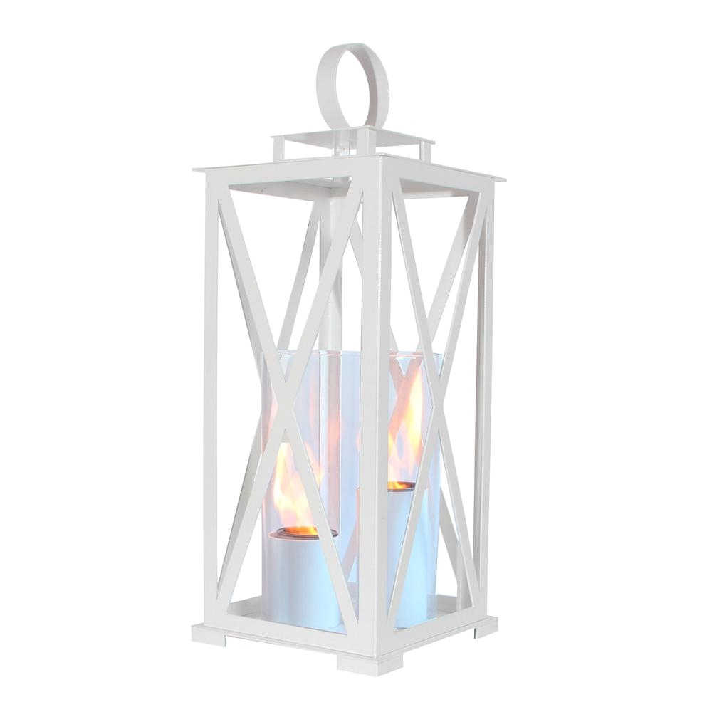 terra flame madison 25 5 in lantern in white large size