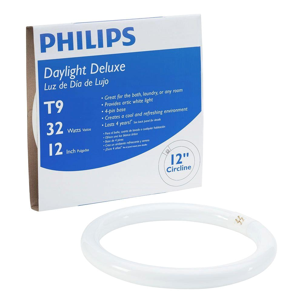 t9 circline linear fluorescent light bulb daylight deluxe