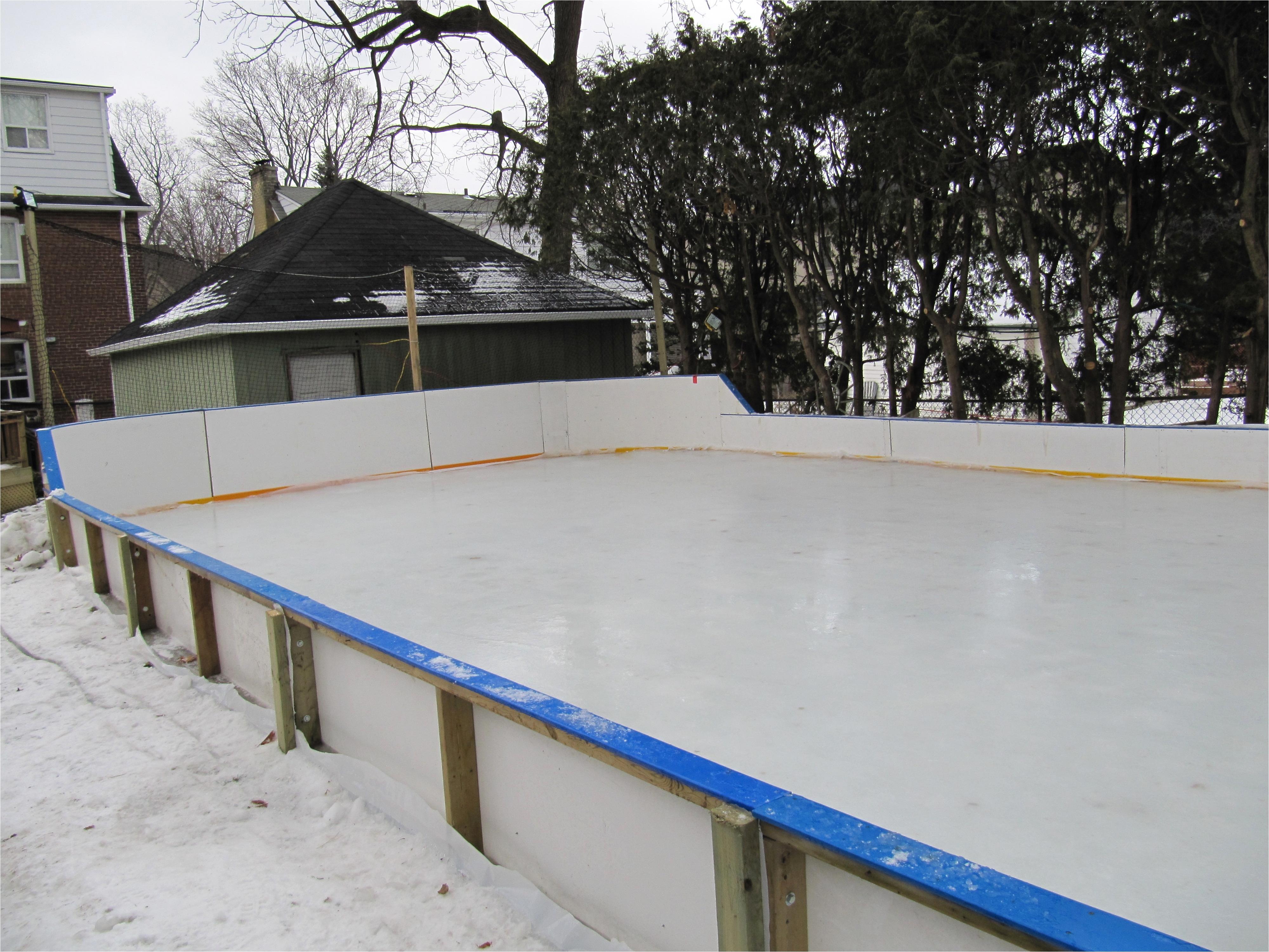 backyard ice rink brackets pretty backyard ice rink brackets picture