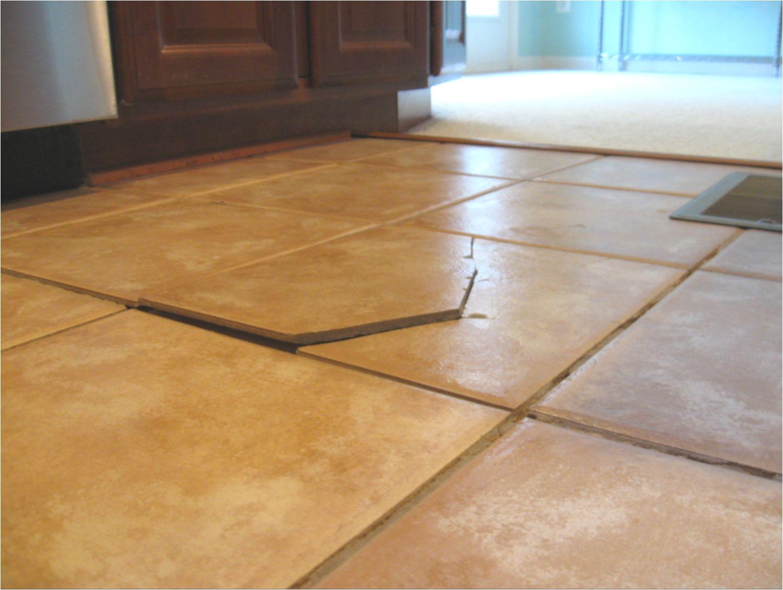 cracked individual ceramic tile