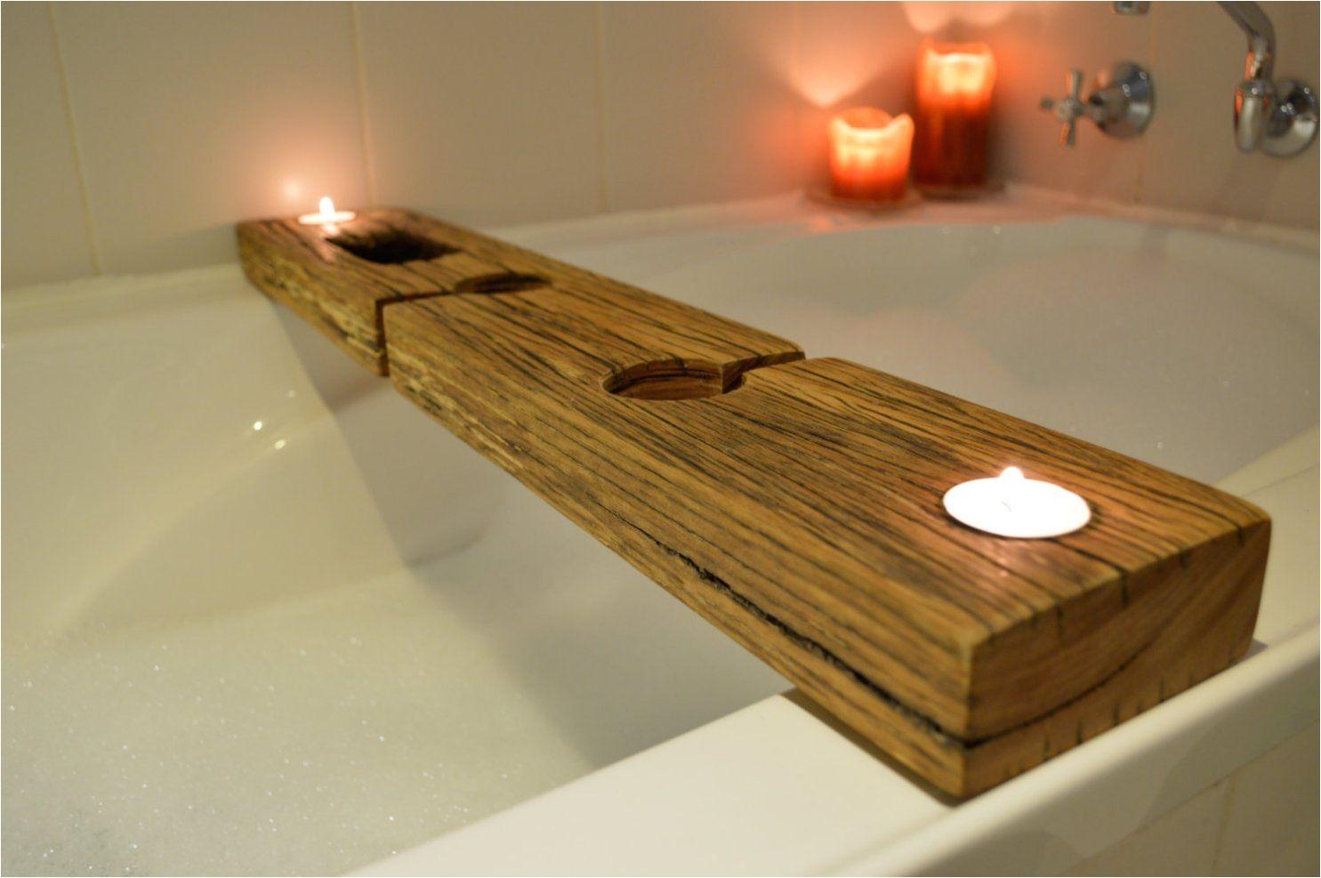 wooden bathtub caddy tips