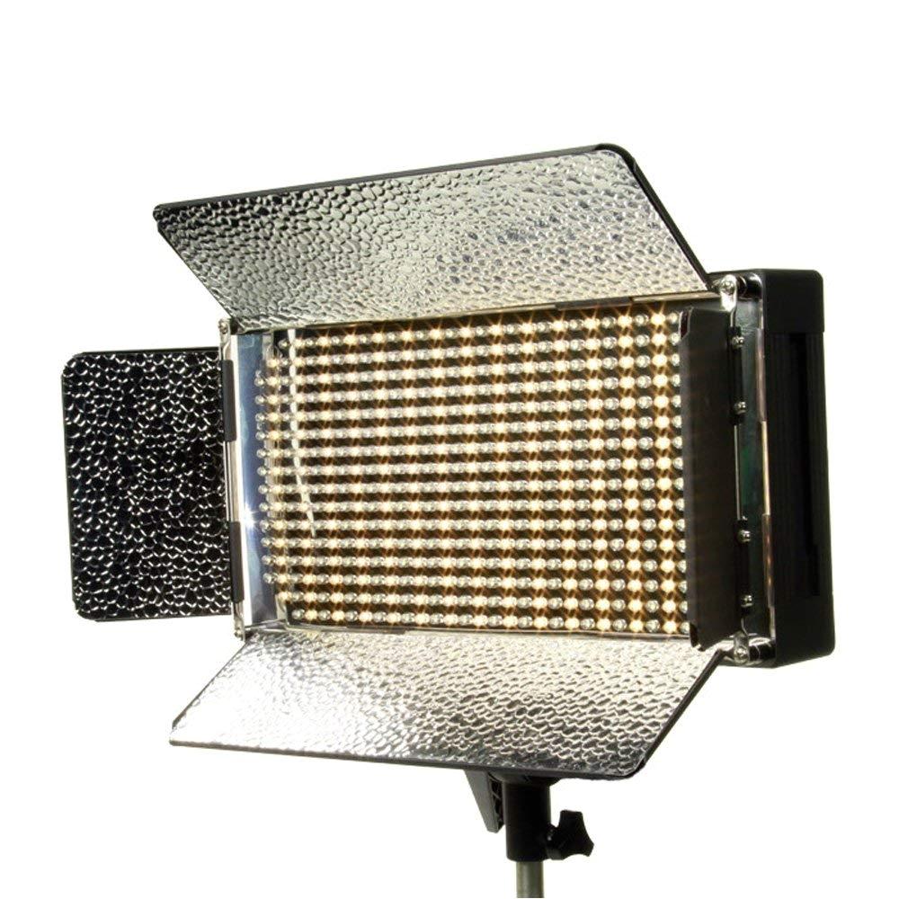 amazon com ikan ib500 bi color led studio light black on camera video lights camera photo