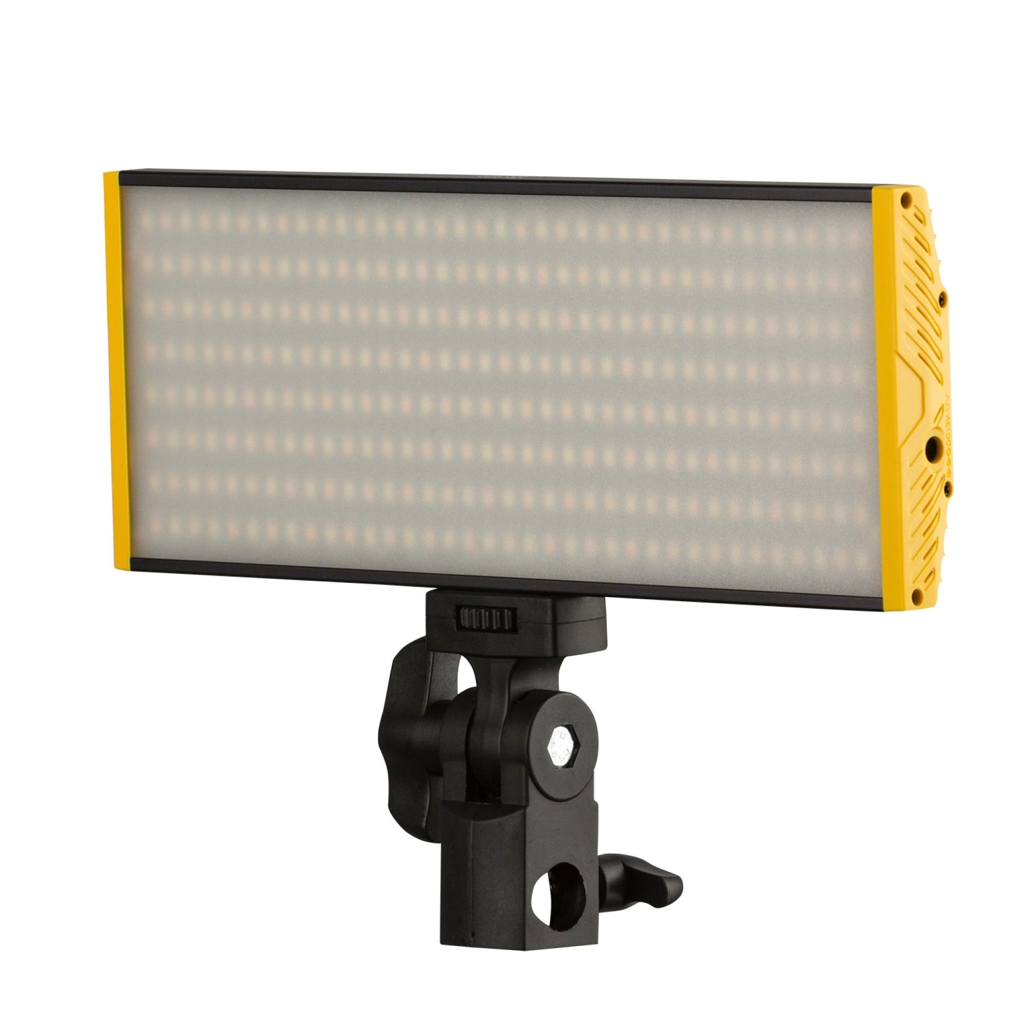 leos camera supply ikan oyb240 onyx 240 bi color aluminumn on camera led light