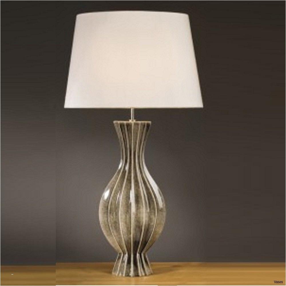 h vases vase table lamp elstead lighting ribbed black gold talli 0d