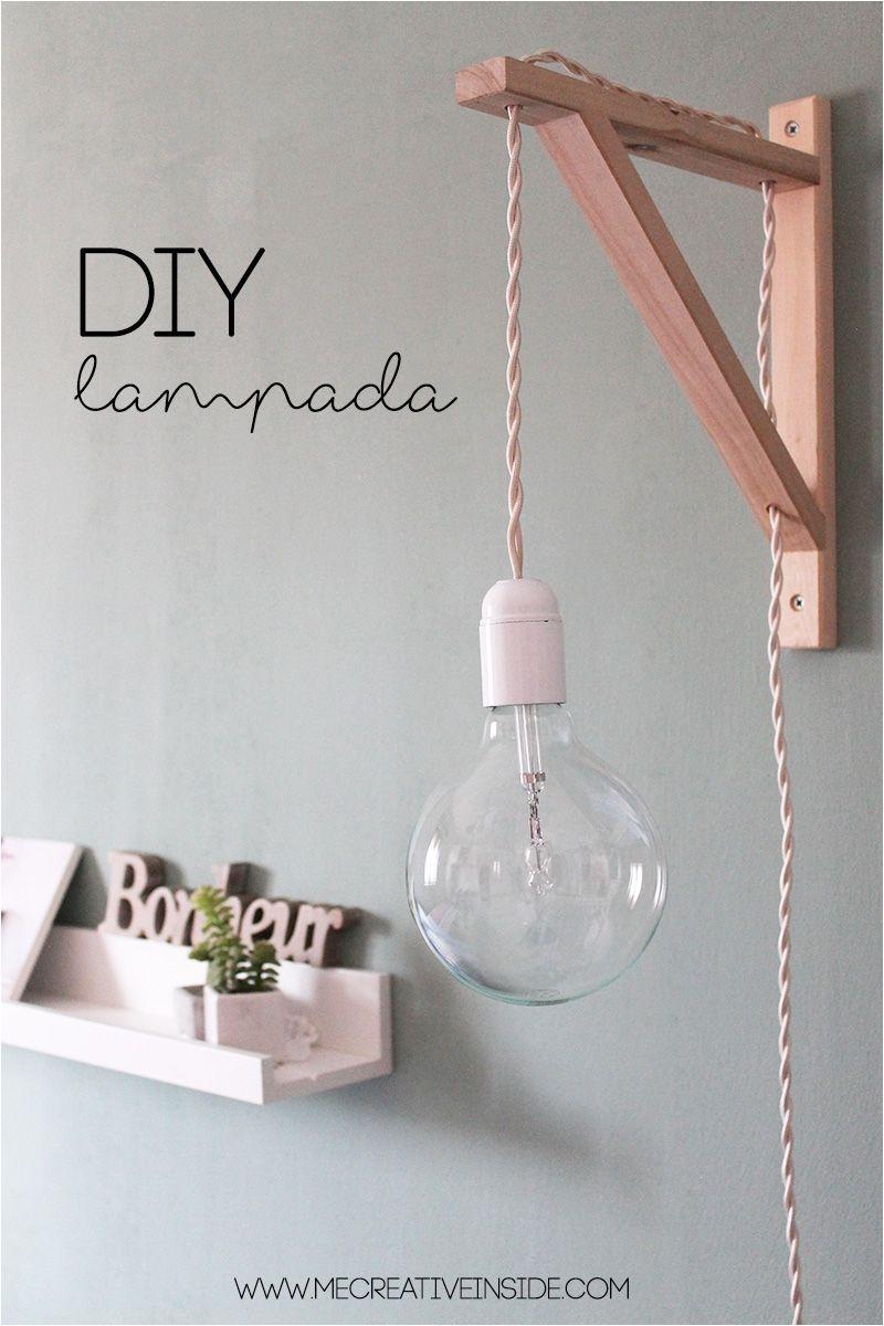 ikea tips diy lampada cable lamp tutorial lampada fai da te con staffa reggimensola ikea