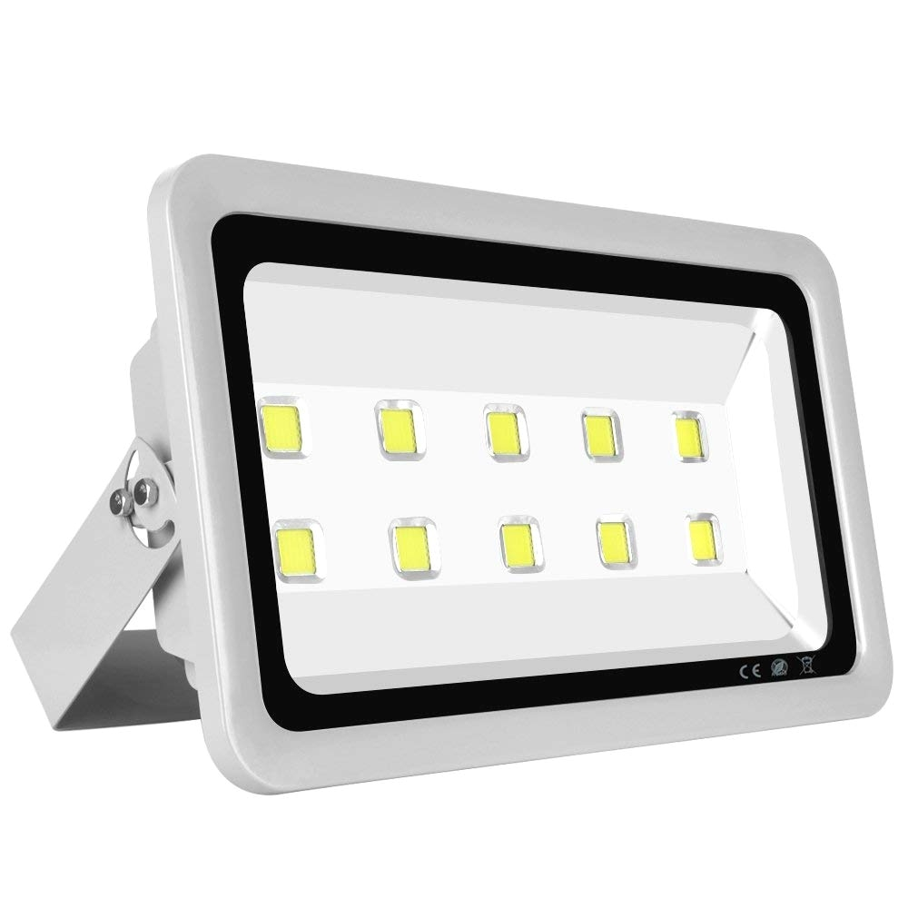 amazon com morsen super bright led flood light 500w 50000lm for indoor outdoor lighting fixture daylight white 6000k garden outdoor