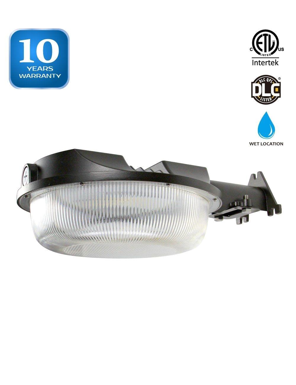 led barn light dusk to dawn photocell yard light for area lighting 58w 350w equiv