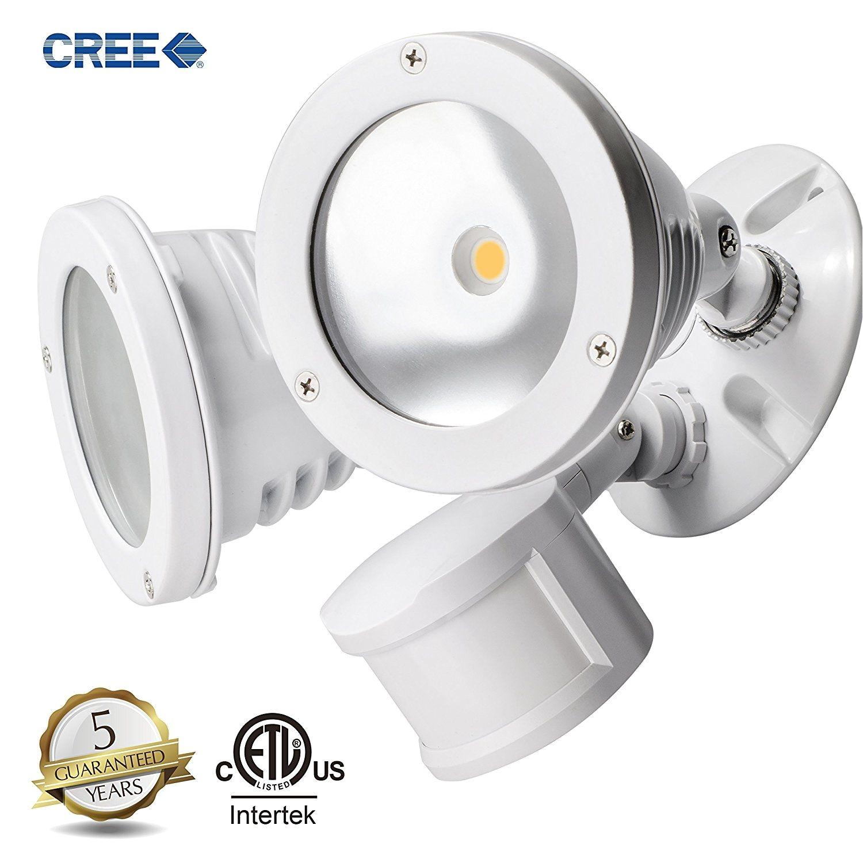 topele led security motion sensor flood light super bright 2200lm aluminum outdoor floodlight 24w