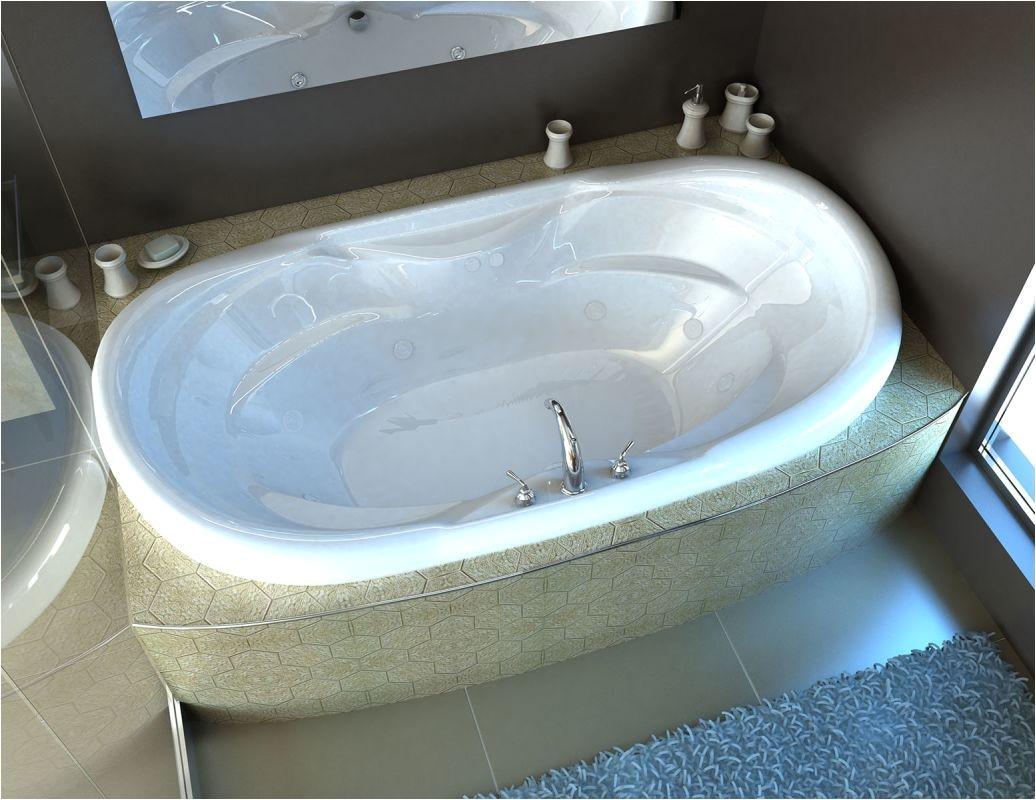 avano av4170iwl st lucia 70 acrylic whirlpool bathtub for drop in installations white tub whirlpool drop in