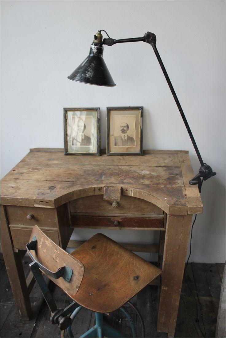 superbe ancienne lampe industrielle gras na201 abat jour dessinateur jewellers benchold
