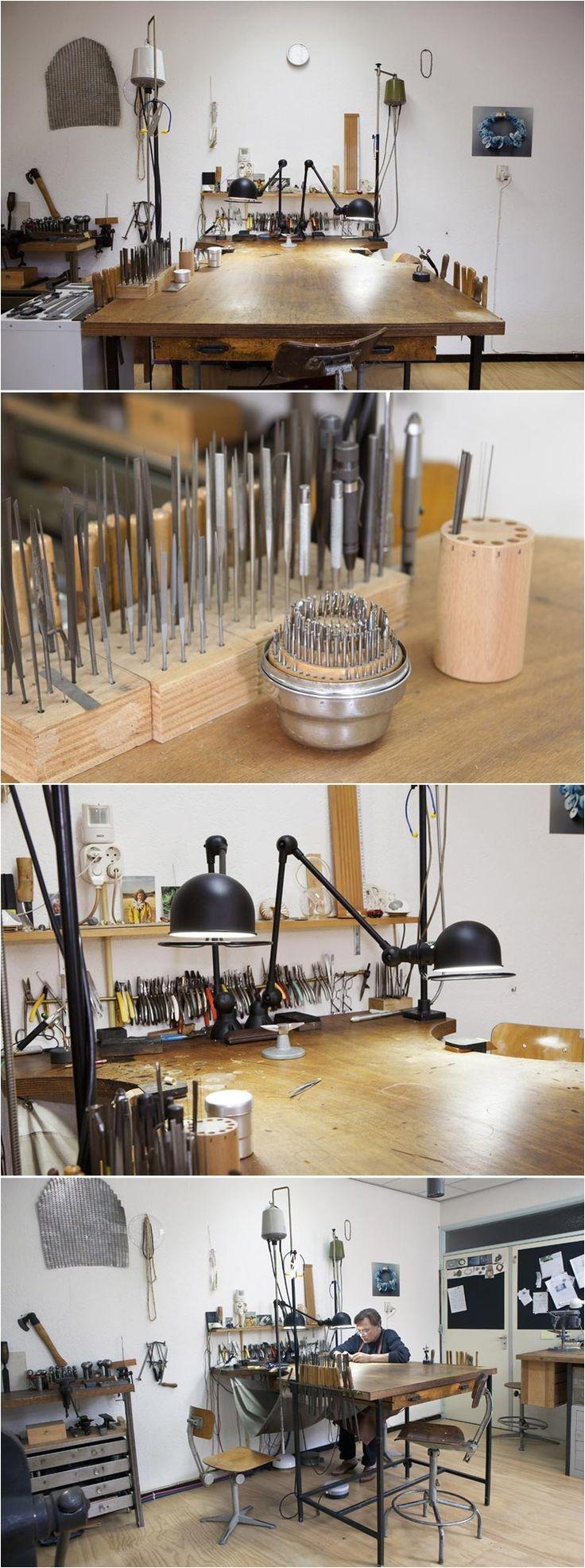goldsmith ralph bakkers atelier http www ralphbakker nl web a websitejewelers workbenchjewelry