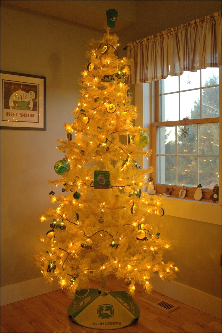 our john deere christmas tree