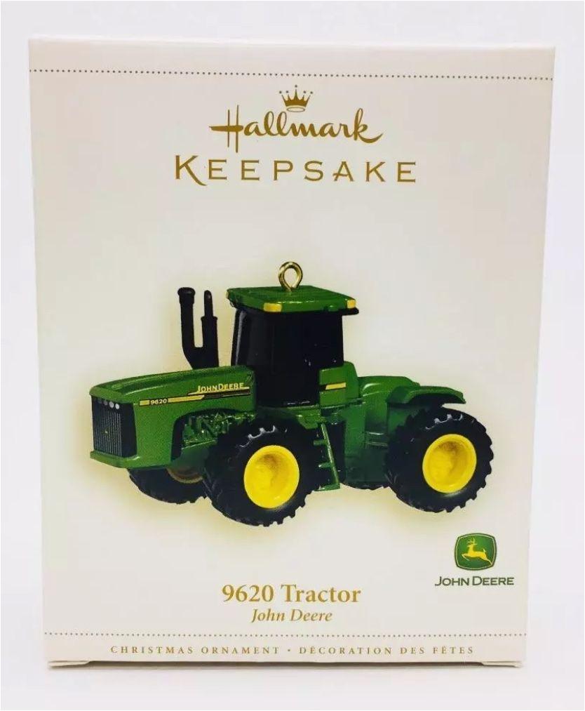 john deere tractor model 9620 hallmark keepsake christmas tree ornament
