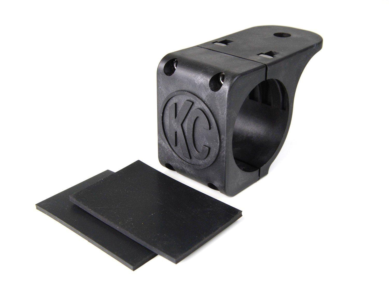 kc hilites universal light mount tube clamp bracket for led hid and halogen lights