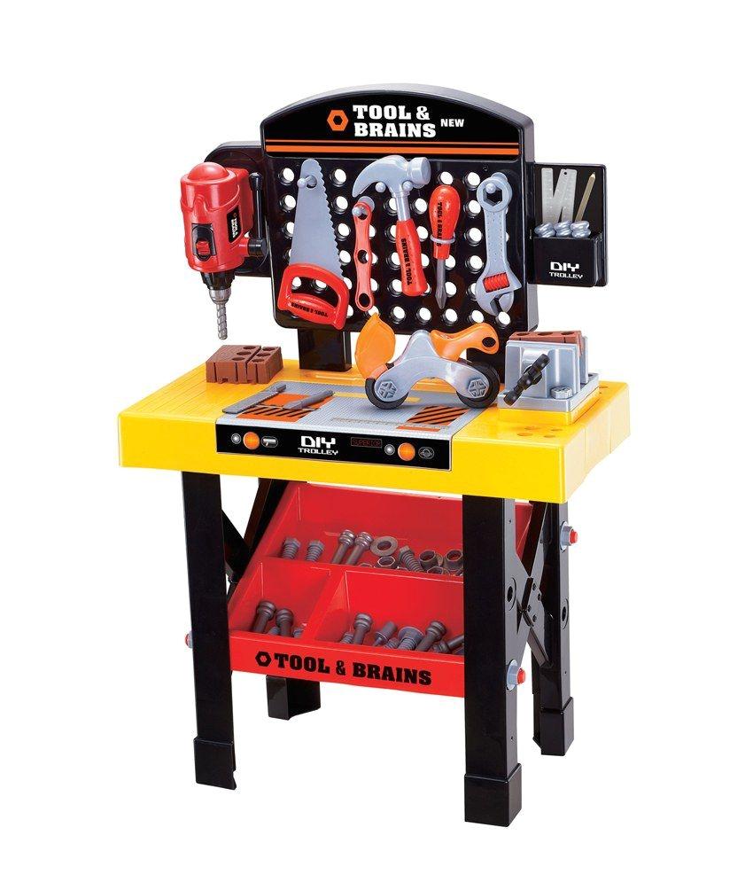 tool brains mechanics bench repair child tool kit game