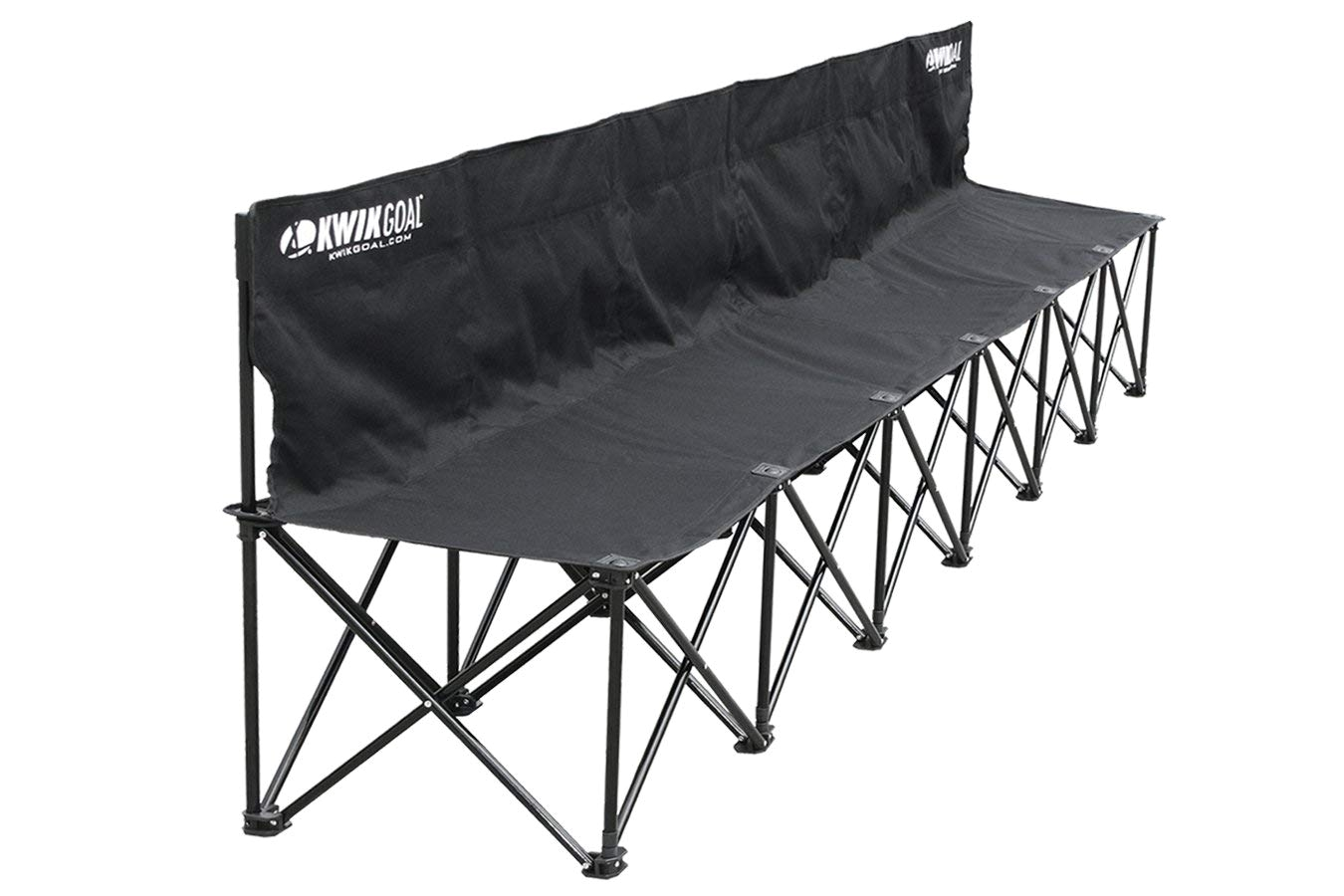 amazon com kwik goal 9b906 6 seat kwik bench soccer nets sports outdoors