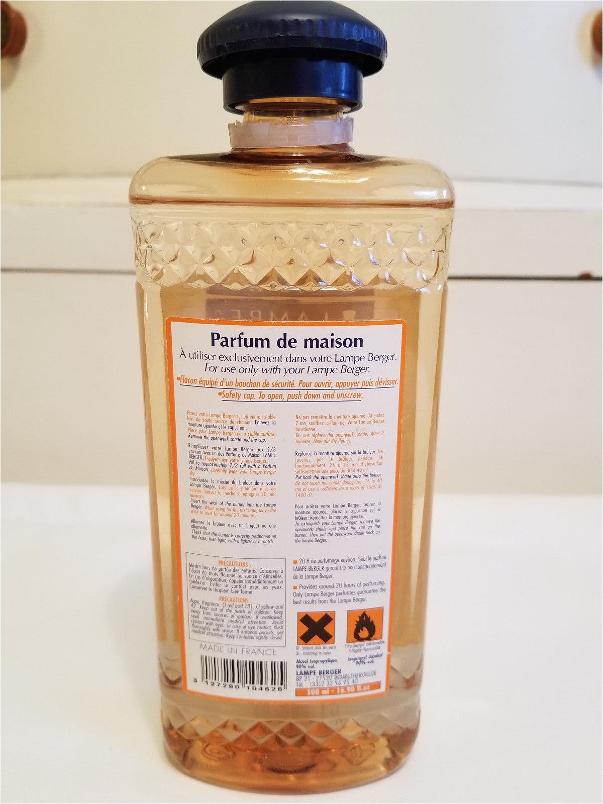 Lampe Berger Oil Scents Old Stock Lampe Berger Paris Laurier Rose Parfum De Maison Liquid