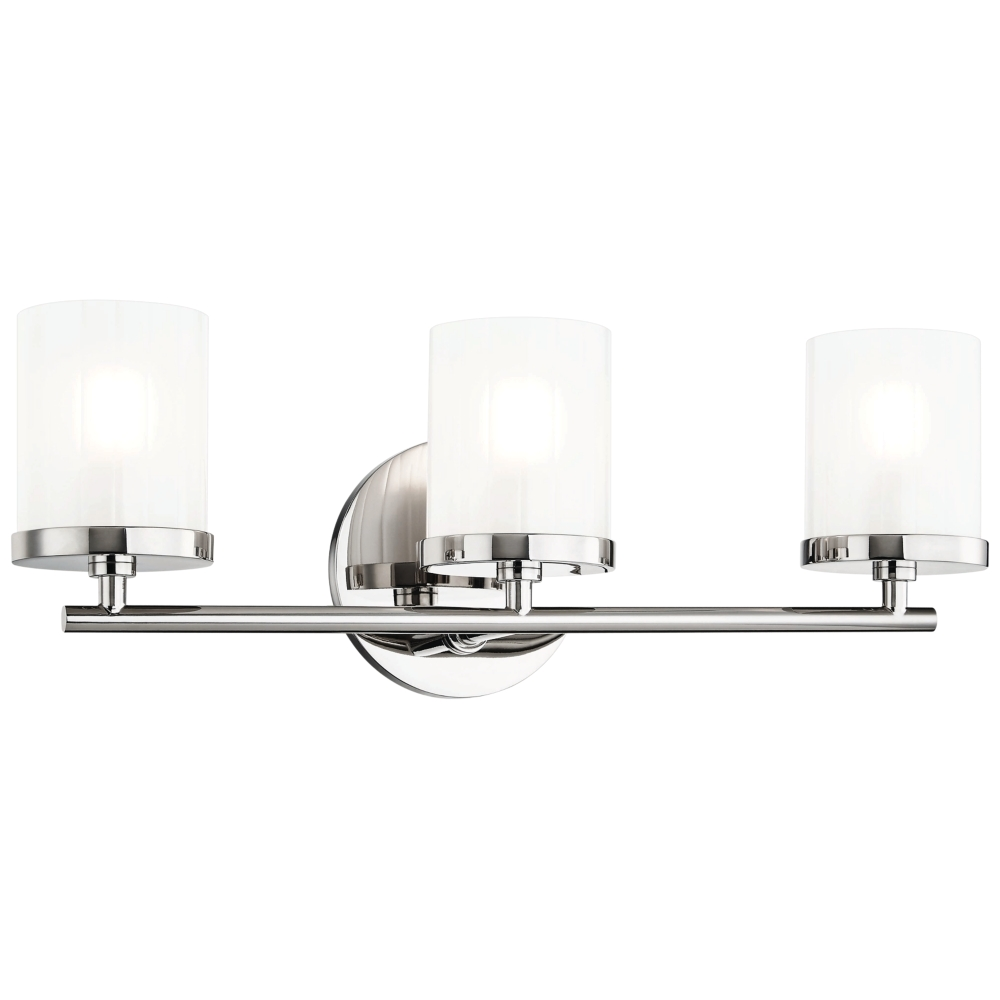 mitzi ryan 17 1 2 wide polished nickel 3 light bath light www lampsplus com