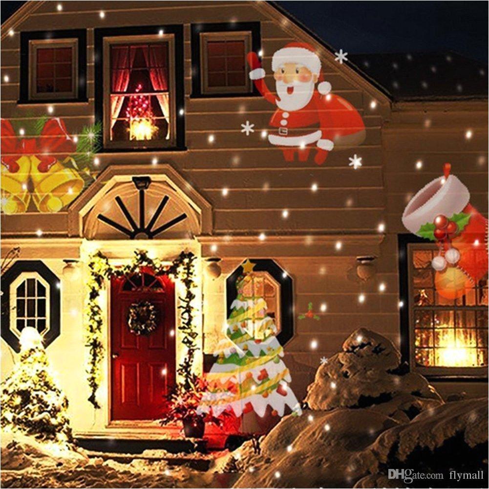12 patterns christmas laser snowflake projector outdoor led waterproof disco lights home garden star light indoor halloween decoration theatre light dj