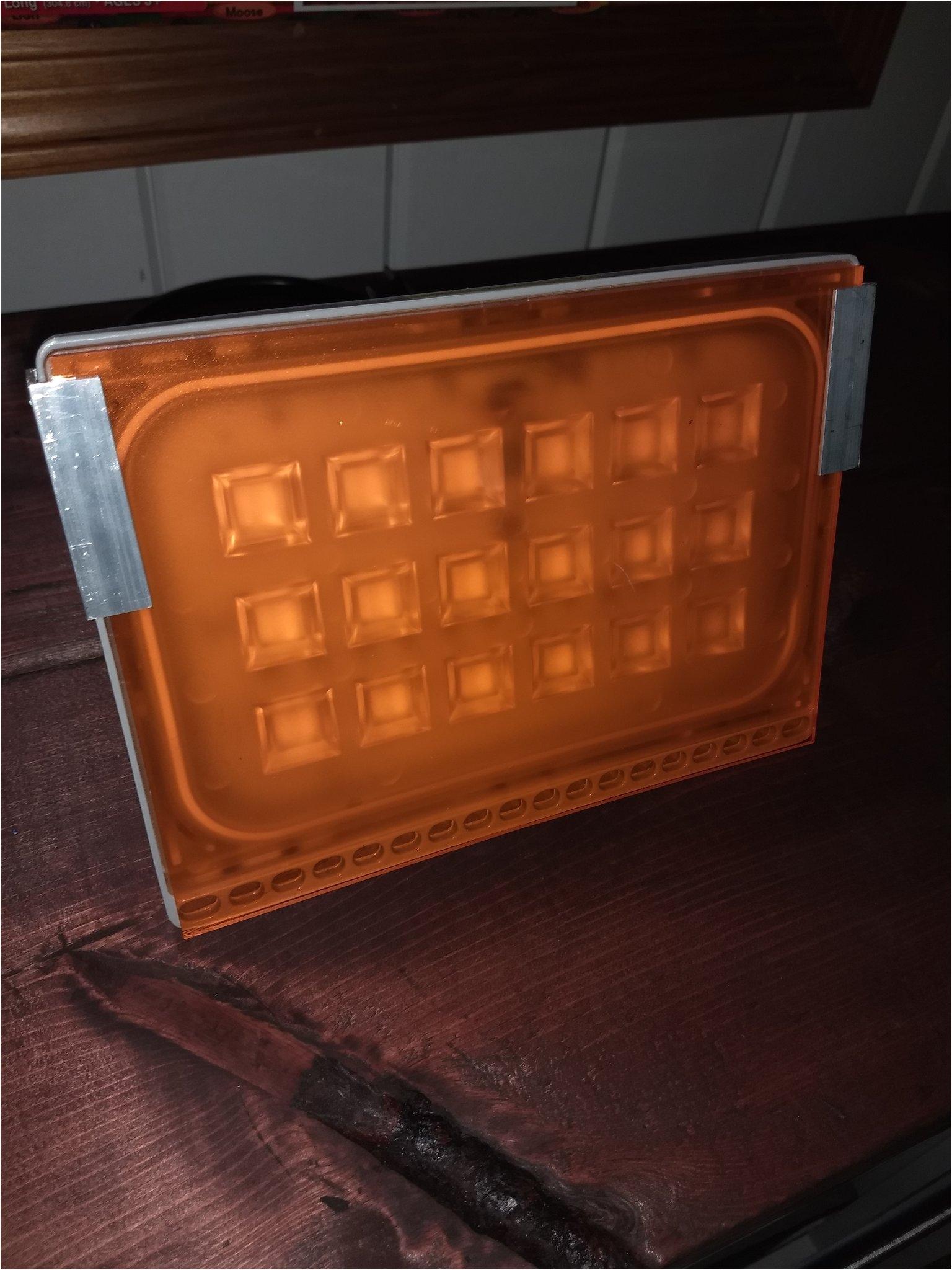 next generation leds 50w led bowfishing flood light 110v ac hps amber filter
