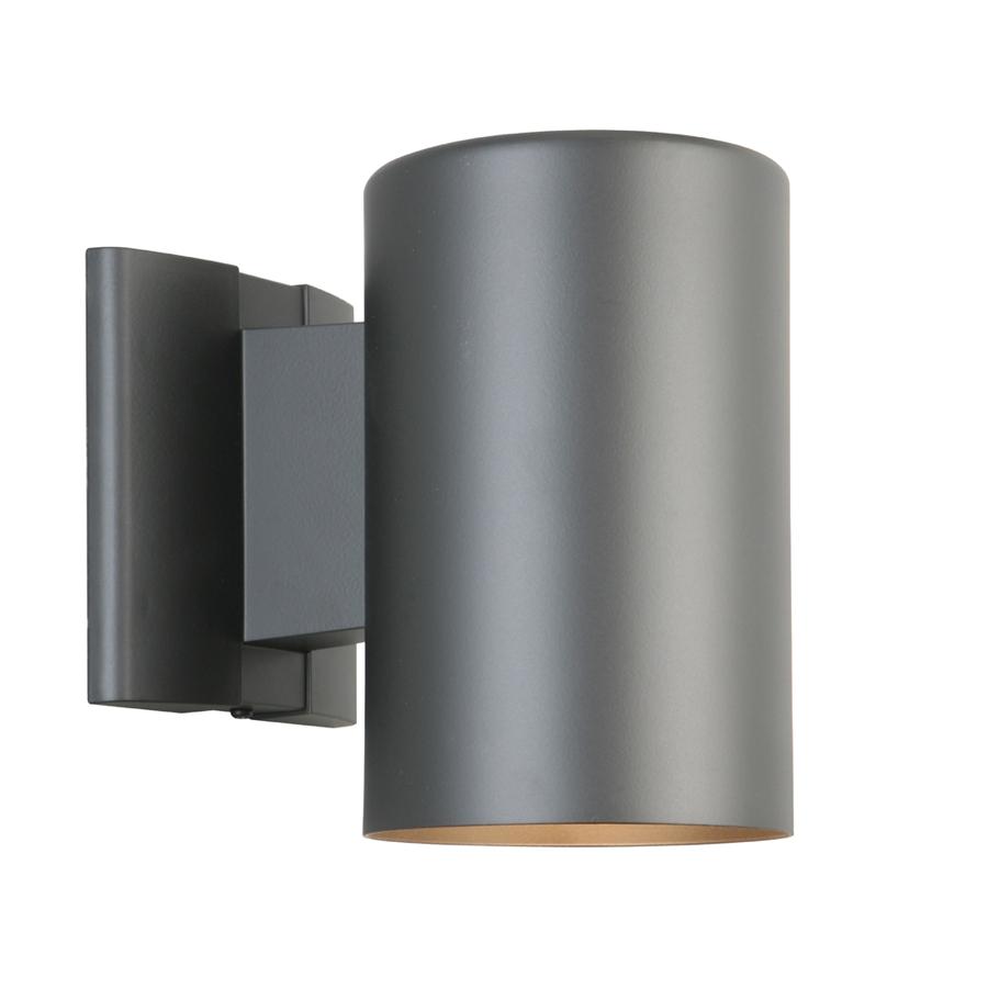 portfolio 7 in h matte black dark sky outdoor wall light