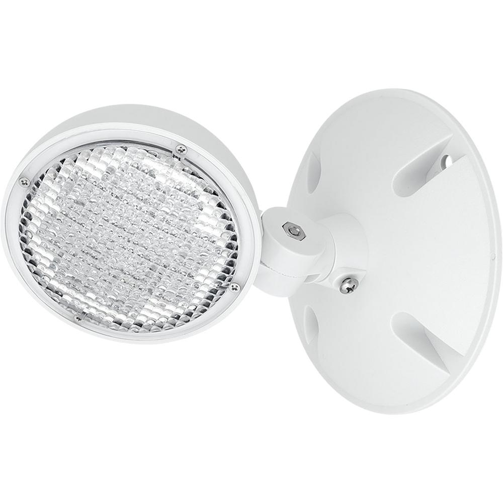 progress lighting perhc collection 1 watt white integrated led emergency light