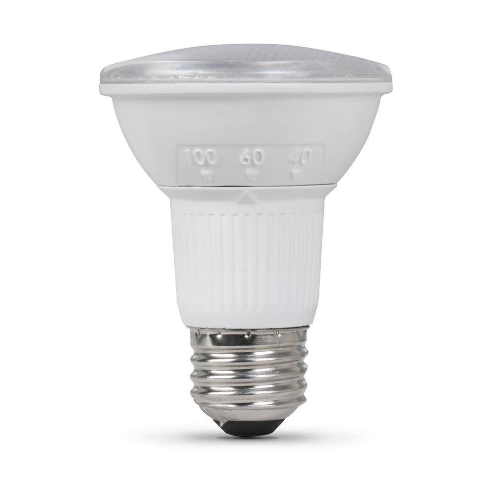 50 watt equivalent par20 dimmable led 90 cri adjustable light bulb daylight