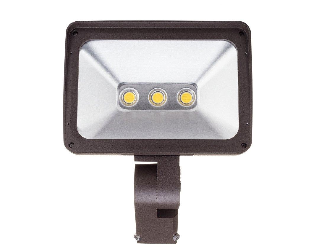100w led flood light fl100 with adjustable 3 o d slipfitter mount