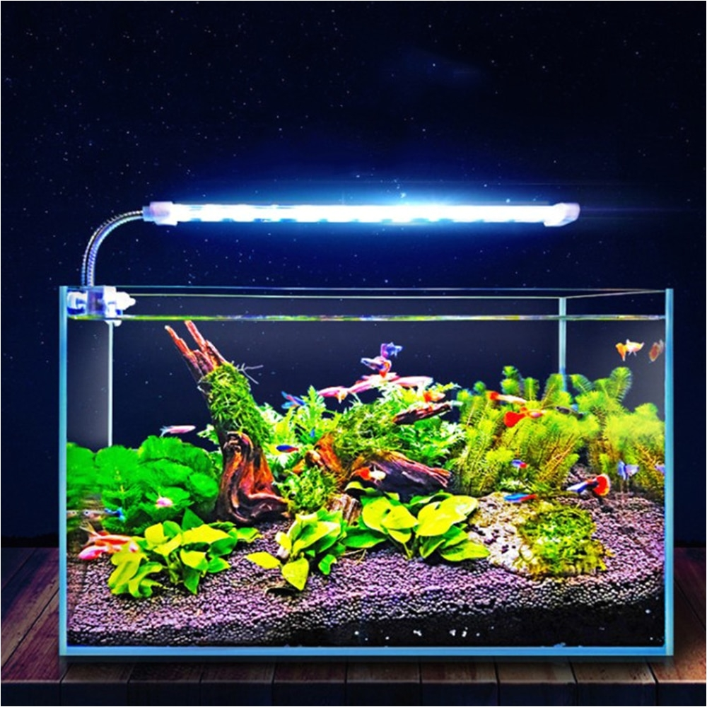 length 30cm power line of the 126cm lamp number 16 weight 280g 360g 420g product list 110t crystal lamp double row fish tank lamp